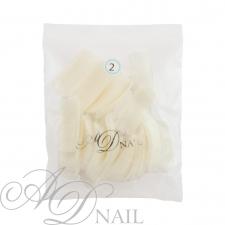 Bustina unghie finte - ricarica tip 50 pz - naturale 2