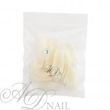 Bustina unghie finte - ricarica tip 50 pz - naturale 3