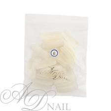Bustina unghie finte - ricarica tip 50 pz - naturale 6
