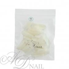 Bustina unghie finte - ricarica tip 50 pz - naturale 7