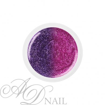 Gel uv colorato termico cambia colore Glitter Violetto 5ml