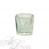 Bicchierino di vetro per Monomeri