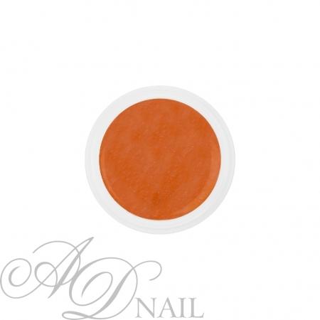 Gel uv colorato glitterato arancione 5ml