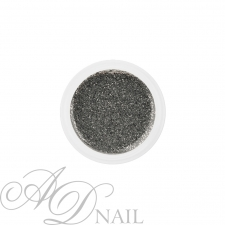 Gel uv colorato glitterato argento 5ml